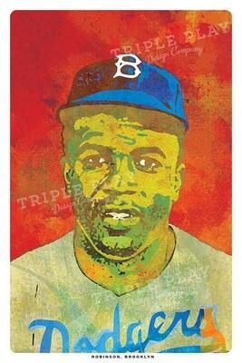 Jackie Robinson — Illustrated Art Print