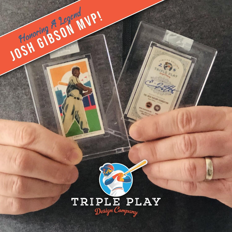 Josh Gibson MVP — Premium T206-Sized Art Card
