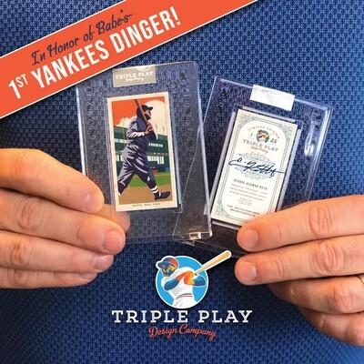 Babe Ruth — Premium T206-Sized Art Card