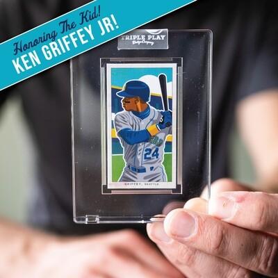 Ken Griffey Jr. — Premium T206-Sized Art Card