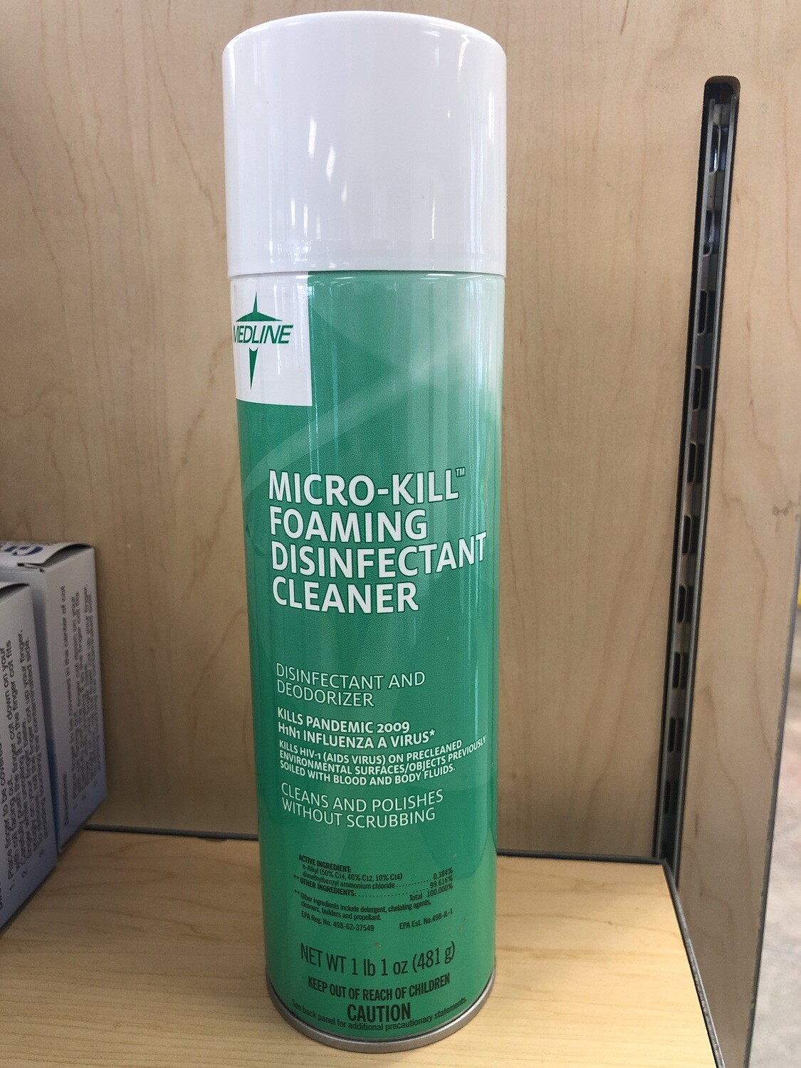 Micro Kill Foam Disinfectant Cleaner