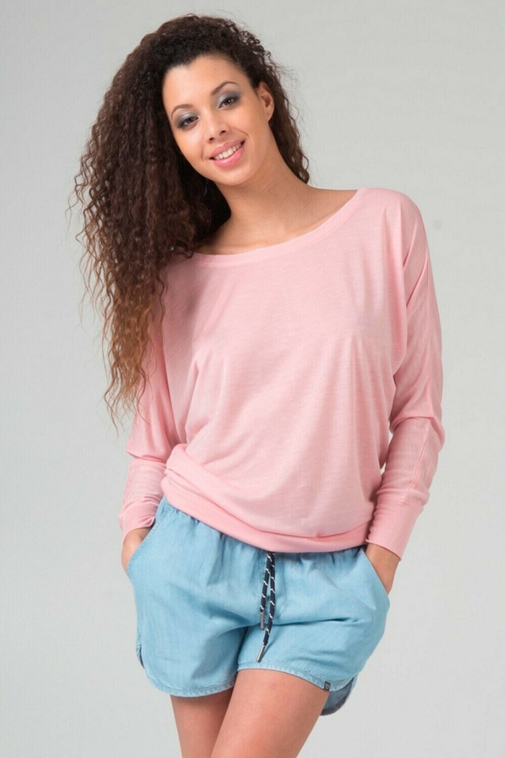 Damen Boat Neck T-Shirt Switcher Ibiza
