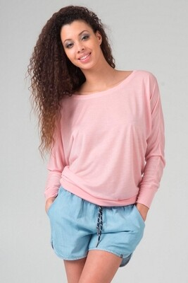 Damen Boat Neck T-Shirt Switcher Ibiza