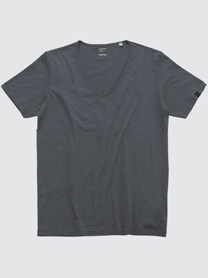 Switcher slub V- T-Shirt