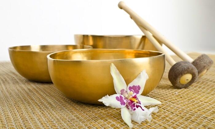 Klangschalen-Massage