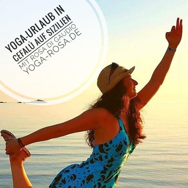 "Yoga-Urlaub 299€ + PayPal-Gebühren  "" Yoga-Retreat auf Sizilien in Cefalu' in Ostern 2022"""