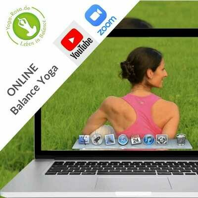 Online-Yoga-Kurs | 90 Min. | 130€ + PayPal Gebühr