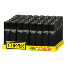 CLIPPER LARGE LIGHTER SOFT TOUCH BLACK