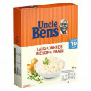 UNCLE BEN'S RIZ LONG GRAIN 1KG 10 MIN.