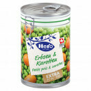 HERO GOURMETS PT. POIS & CAROTTES 425G EXTRAFIN