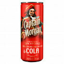 CAPTAIN MORGAN SPICEDGOLD & COLA 5% 250ML