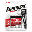 ENERGIZER MAX AAA4 LR03/E92 PILES