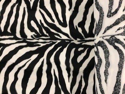 Zoo polyester zebra 158