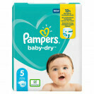 PAMPERS BABY DRY NO.5 JUNIOR 11-16KG 40 PCES
