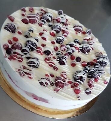 Torta gelato Cheesecake frutti di bosco (8-10 fette)