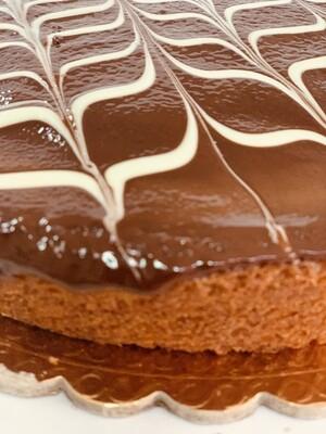 Plumcake con nutellotto e cioccolato bianco
