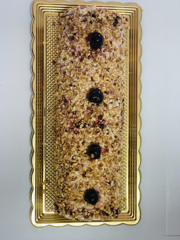 Tronchetto gelato Croccante Amarena 10 - 12 fette