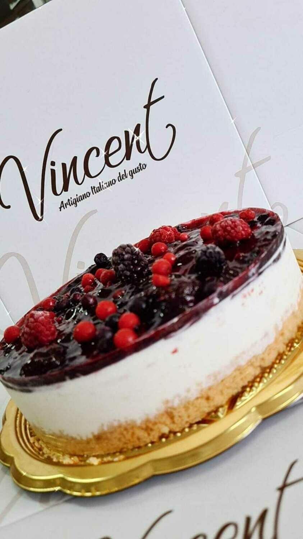 Torta Cheesecake ai frutti di bosco (8 - 10 fette)