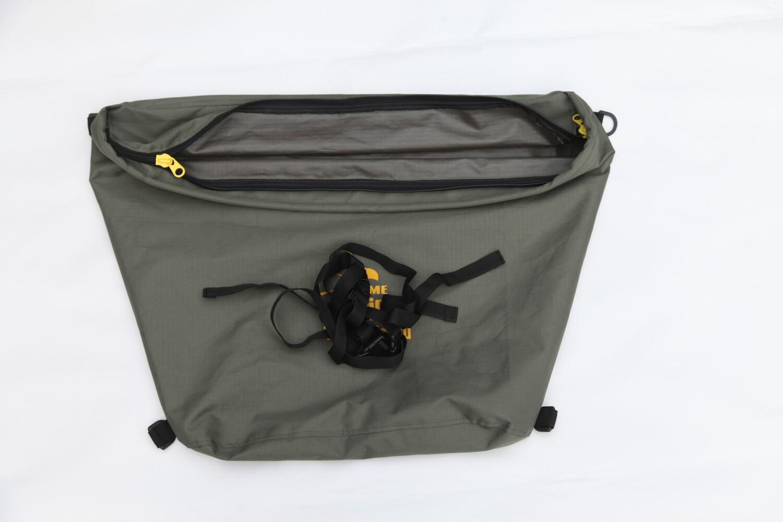 Wasserabweisende Bugtasche / Bowbag (gebraucht)