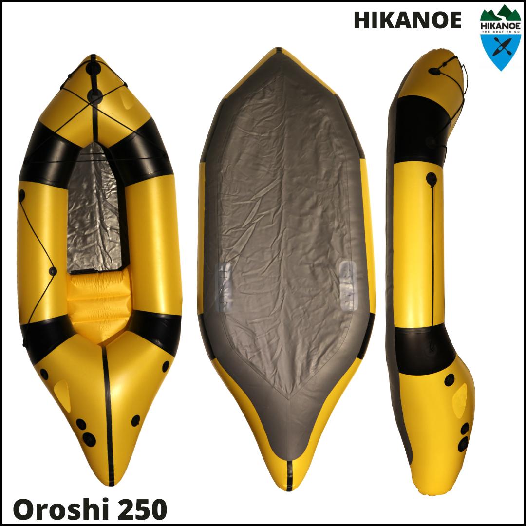 Oroshi 250 (1er Packraft)