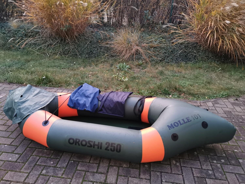 Packraft gebraucht - Oroshi 250