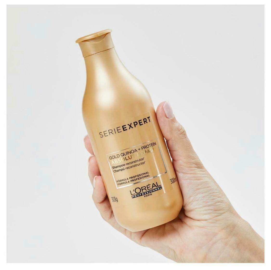 Shampoo Absolut Repair Gold Quinoa + Protein - L'Oréal