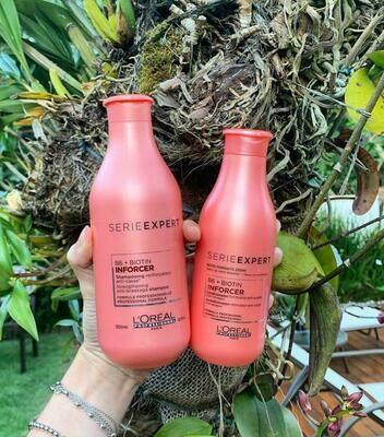 Shampoo e condicionador Inforcer - L'Oréal - VALOR PROMOCIONAL