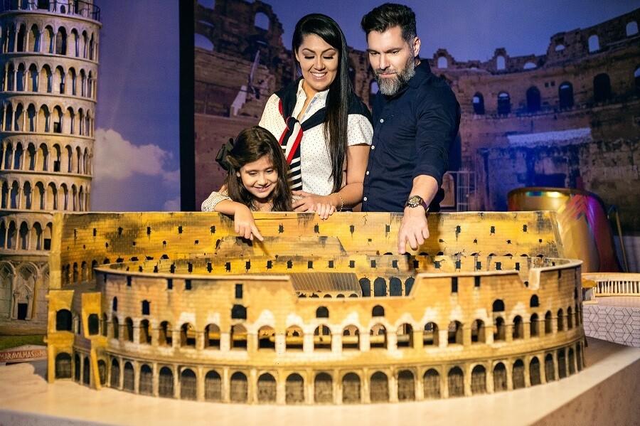 Museu de Cera + Maravilhas do Mundo