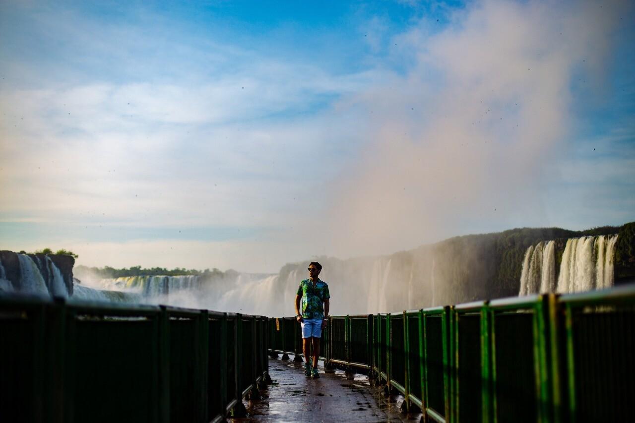 Acompanhamento Fotográfico nas Cataratas do Iguaçu