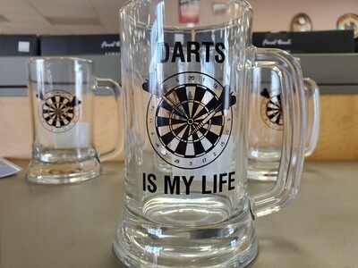 Darts is my life mug