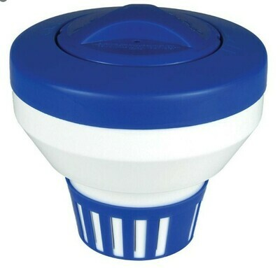 Floating Chlorine Dispenser / Chlorinator for pools / pucks