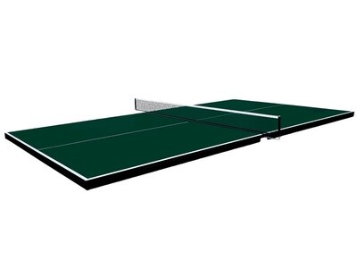 TABLE TENNIS CONVERSION TOP GREEN (TOP ONLY)