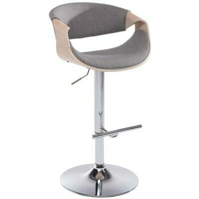 CHASE GAS LIFT STOOL IN GREY