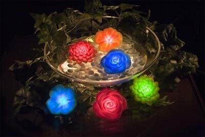 LED LIGHT UP FLOWERS (ASSORTED)