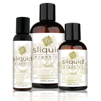 Sliquid Organics Silk Natural Lubricant 4.2oz