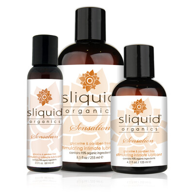 Sliquid Organics Sensations Warming Lubricant