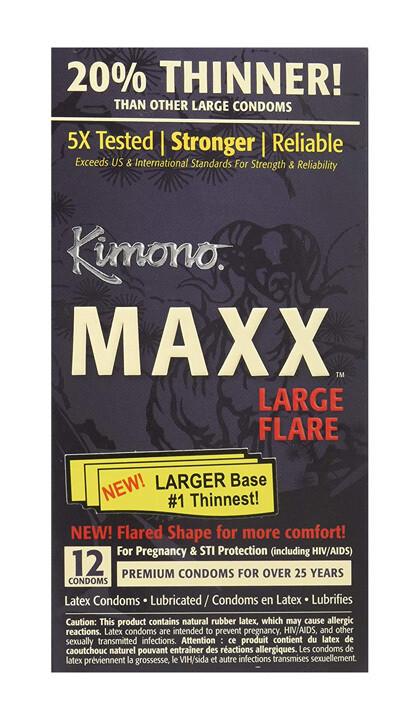 Kimono Maxx Large Flare 3 Pack
