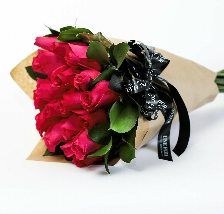 Pink Bouquet De Rosas