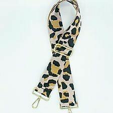 Bag Straps- Fairy Floss Leopard
