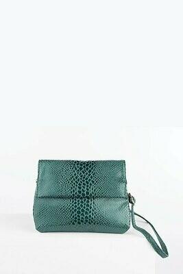 Snake Crossbody  Bag - Green