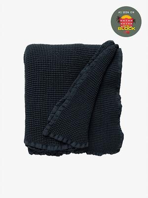 Hepburn Blanket -Navy