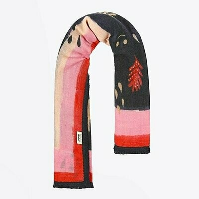 Woodland Red Scarf