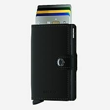 Secrid Mini Wallet- Matt Black