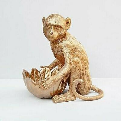 Monkey Bowl - Gold