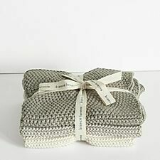 Wash Cloths -Taupe