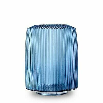 Pleat Vase- Ink Blue   (XL)