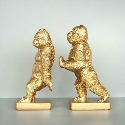 Gorilla Bookends