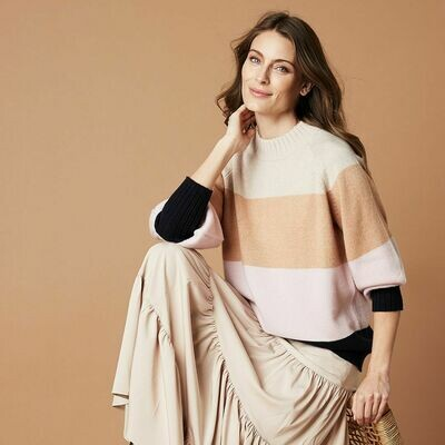 St Kilda Knit - Taupe