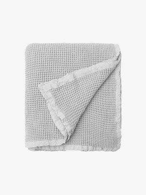 Hepburn Blanket - Silver