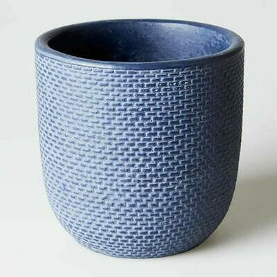 Tweed Planter - Indigo